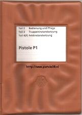 Bundeswehr Walther P1 manual 1976 Tdv 1005/006-14