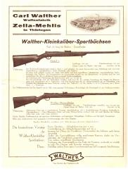 Carl Walther Zella-mehlis leaflet