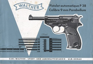 Manual Walther P38 French