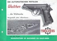 Manurhin PP PPk manual 1957