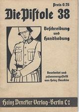 German P38 manual Heinz Denckler Verlag from ww2
