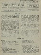 P38 manual Potsdamer Waffentafeln (1941)