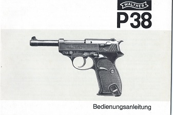Carl Walther P38 Manual 11.82.3.20,0 217 72 77