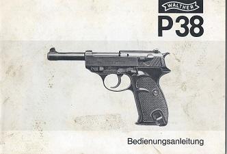 Walther P38 manual 277.20.2