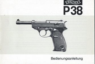 Carl Walther P38 Manual 3.79 20.2 217 72 77