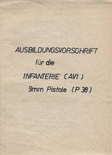 Austrian P38 manual Infantry 1957