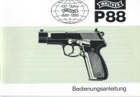 Walther P88 manual German