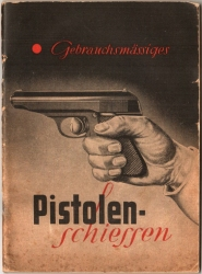 Walther PPK booklet shooting 1939