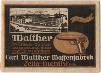 early walther models brochure