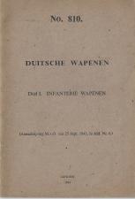 Dutch manual captured German weapons Voorschrift No.810 1943